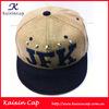 Custom Wool Snap back Cap/hat /hot sale/3D Embroidery/Black Brim/Rivets/wholesale alibaba