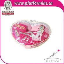 Valentine promotion gift EPS filled cushion