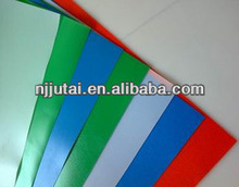 Colored LDPE plastic sheet in roll