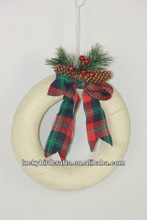 2014 Christmas wreath ornament/festival home decoration/holiday deco