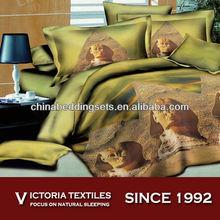 classic pattern 3d print sheet set 4 piece bedding sets landscape series
