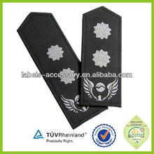 Silver Epaulettes For The Pilots Uniform | Pilot Epaulette Captain | gold bars captain epaulettes