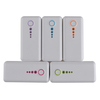 5000mAh Portable Battery Charger for Samsung Galaxy S4 I9500 Leather Case Optional