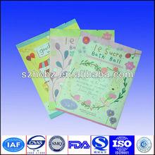 prited plastic cosmetic bag free sample
