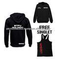 Stfu et TRAIN HOODIE | rue GYM porter JUMPER veste pull vêtements de MMA