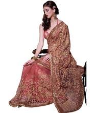 Impressive Heavy Pallu Saree