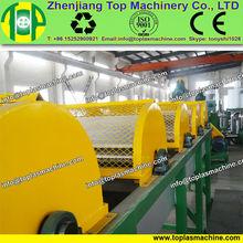Waste LLDPE film disposal facility  farm film, jumbo bags shopping bags water bags crushing washing recycling machine line