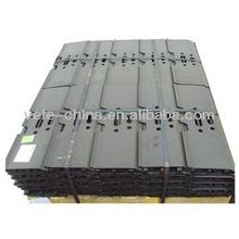 daewoo excavator steel track pad