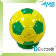 China fornecedor de produtos inovadores simples Bluetooth speaker futebol copa do mundo melhor portátil alto-falantes Bluetooth