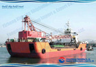 48m self propelled barge for sale
