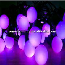 wholesale purple led twinkle light string 5m LED string with 50leds bulb 3W 110v-240v