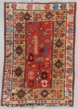 Antique Turkish Rug MELAS #7352
