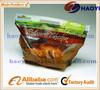 Qingdao laminated hot roast chicken bag/rotisserie chicken bags/microwave grilled chicken bag