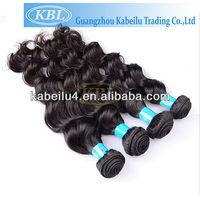 Finest quality premium kbl brazilians hair xi loose wave