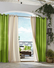 designer curtains and bed coverings