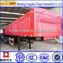Tongya Best-selling 3 axles box utility trailer