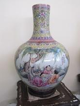 Antique Ceramic Vase, Luxury Fine Ceramic Vase, Chines Antique Vase
