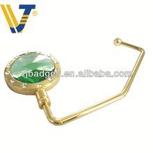 Wholesale zinc alloy bag hanger purse hook key chain