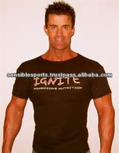2014 hot 95 cotton 5 spandex muscle mens tight fit t shirt