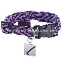 New fashion dog training collar leather dog collar pet dog collar