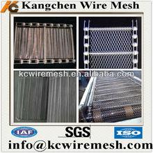 Reputable Kangchen brand v guide conveyor belt,high quality metal wire mesh conveyor belt manufacturer!!!