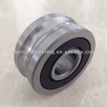 Track rollers LFR5206-20 NPP, 25mm ID, 72mm OD, 20mm gage wire, double row, two rubber seals, lubrication hole on inner ring