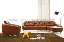 Modern Top Quality Corner Sofa Leather Sofa Sofa UK (WQ6805B)Fashionable Living Room Furniture