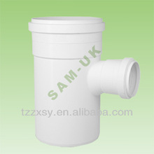 160x110mm PVC PIPE FITTINGS REDUCING TEE WITH SOCKET