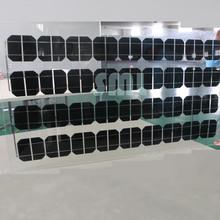 Bluesun high quality mono pv solar panel transparent