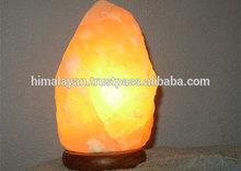 Lampade di sale naturale/rock lampada di sale
