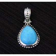 925 Sterling Silver GemStone Pendant B (15)
