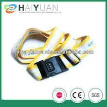 dye sublimation printing luggage belt with digital lock