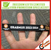 For Events Silk Screen Printed Woven Wristband