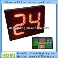 New design LED Basketball 24 seconds basketball shot clocks for sale