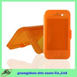China manufacturer offer flip tpu mobile case for virgin mobile iphone4S