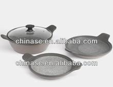 Die cast stone pan masala