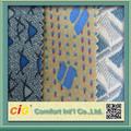 diseño de moda nueva china coche asiento de tela de tapicería de espuma