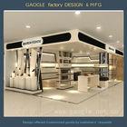 2014 new custom luxury retail display shoe store decoration/shop decoration stand/shoe rack designs wood showcase