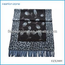 Leopard shawls and scarves pashmina wholesale