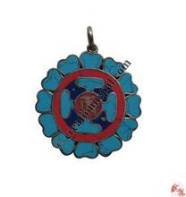 Mandala Tibetan Om pendant