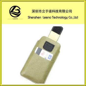 Custom Velvet/Microfiber mobile phone pouches bags OEM/ODM Manufacturer supply