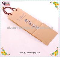 wine bottle paper gift bag
