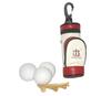 PU Leather Golf Bag with Ball Tee