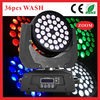 HOT!!!36pcs 10w 4in1 cree Led moving head/wedding decoration