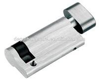 10 Pin Brushed Nickel Cylinder