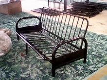 triple folding cheap full metal sofa bed