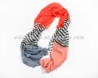 Multi Tone Stripe Pattern Printed Women Fashion Scarf 2014