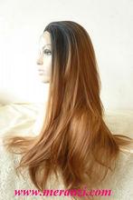 HUMAN HAIR BLEND FULL LACE FRONT WIG - NIZA