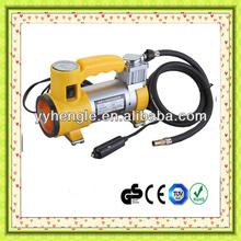 12V mini Car air compressor portable car air compressor With light