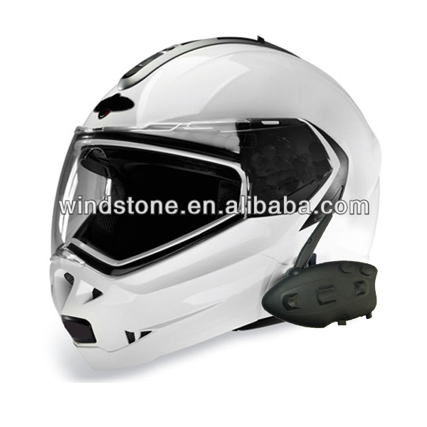 Motorcycle Helmet Headset with Bluetooth intercom - BT-12081 waterproof 200 meters